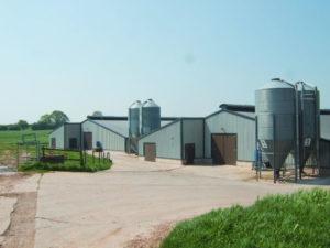 Nowoczesne miejsce magazynowania dla rolników