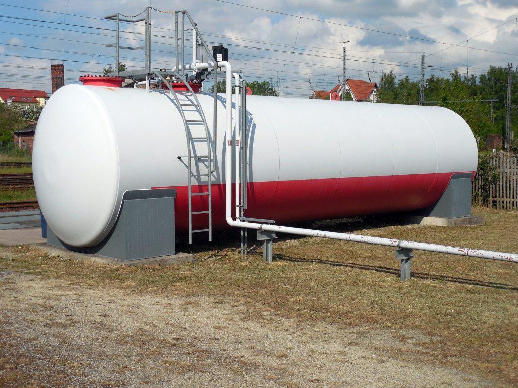 zbiornik na gaz